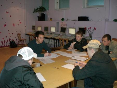 Bewerbungstraining für Jugendliche Februar 2007