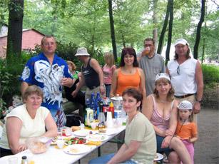 Grillfest für ehrenamtliche Mitarbeiter 2005