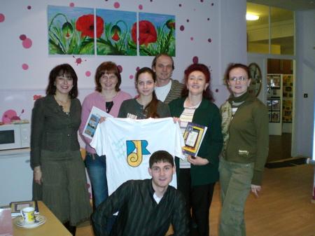 Besuch der Jugendleitergruppe aus Habarovsk