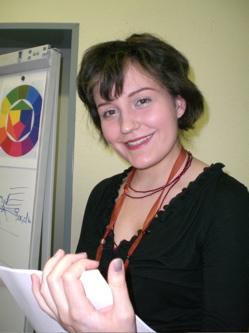 Viktoria Rotermel Leiterin des Kosmetik Seminars