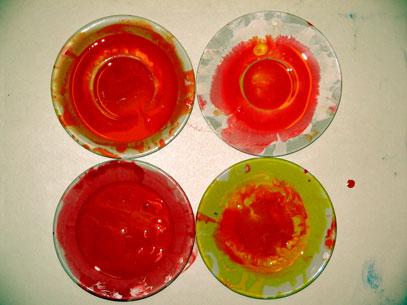 Kunstgruppe Artischok Farben