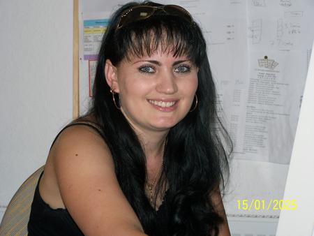 Praktikantin Marina Skripkarasch