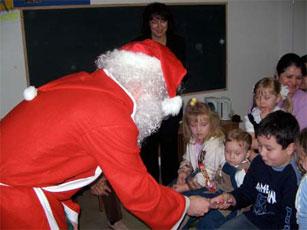 Nikolaustag im Kinderclub am 06.12.2005