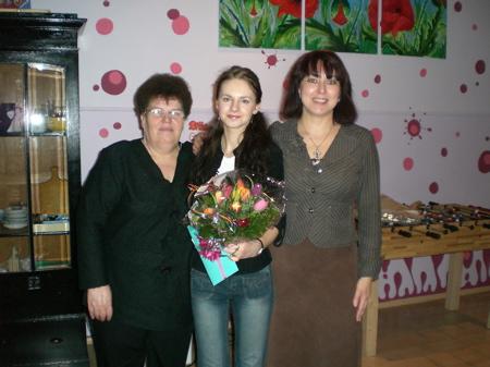 Praktikantin Anna Boev