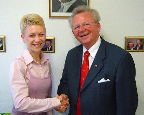 Treffen mit Rudolf Friedrich am 27.04.2006